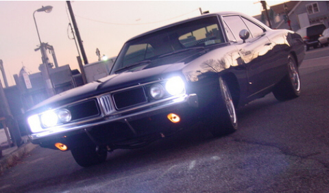 HID Headlights On A 1970 Dodge Charger