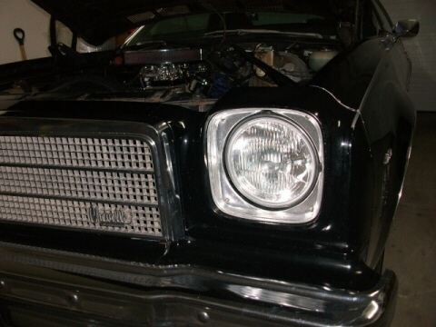 HID Headlight Conversion On A 1974 Chevelle Malibu